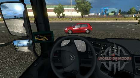 GPS Majestic для Euro Truck Simulator 2