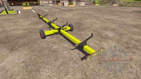 Прицеп для жатки CLAAS для Farming Simulator 2013