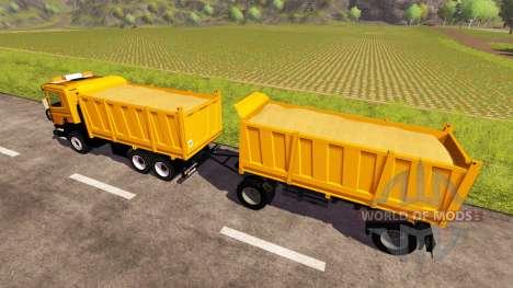Scania P380 для Farming Simulator 2013