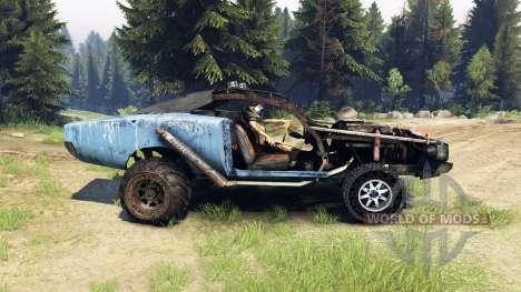 Dodge HL2 blue для Spin Tires