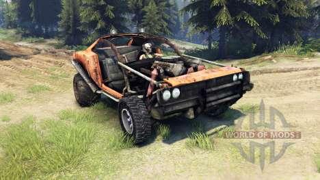 Dodge HL2 orange для Spin Tires