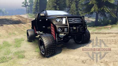 Toyota Tundra off-road для Spin Tires