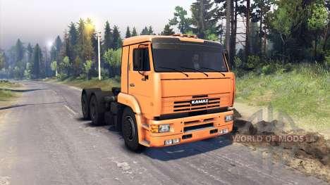 КамАЗ-6460 для Spin Tires