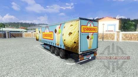 Полуприцеп Ijsboerke для Euro Truck Simulator 2