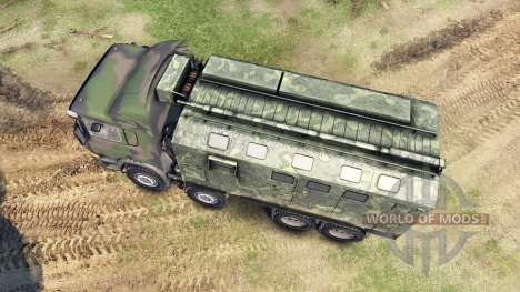 Scania Timber для Spin Tires