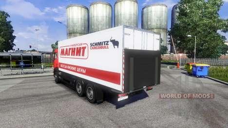 MAN TGS Tandem Магнит для Euro Truck Simulator 2