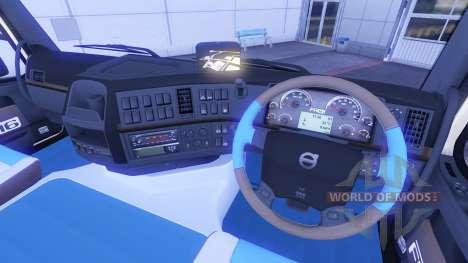 Новый интерьер у тягачей Volvo для Euro Truck Simulator 2