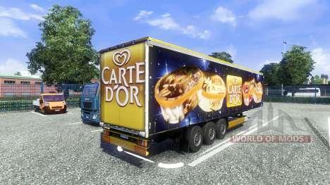 Полуприцеп Carte Dor для Euro Truck Simulator 2
