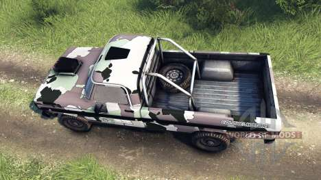 Ford F-100 custom PJ3 для Spin Tires