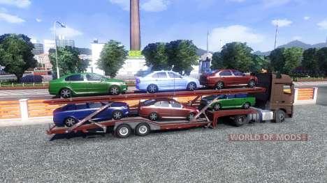 Mercedes-Benz Actros MPIV v1.3 для Euro Truck Simulator 2