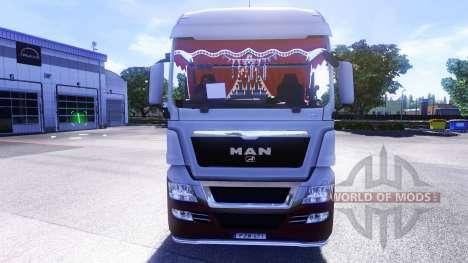 Новый интерьер у тягачей MAN для Euro Truck Simulator 2