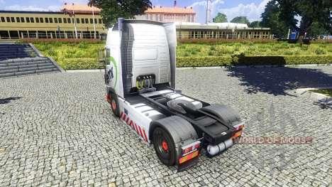 Скин EMR на тягач Volvo для Euro Truck Simulator 2