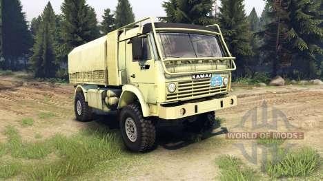 КамАЗ-4911 Экстрим спорт для Spin Tires