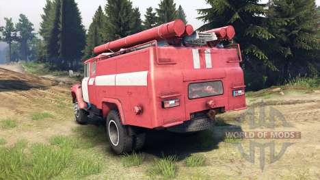 ЗиЛ-130 АЦ-40 для Spin Tires