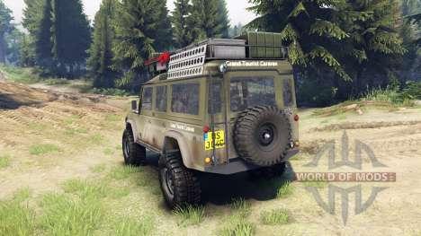 Land Rover Defender 110 для Spin Tires