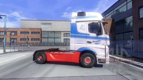Mercedes-Benz Actros MPIV для Euro Truck Simulator 2