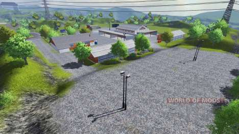 Mannys Map v2.0 для Farming Simulator 2013