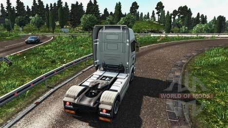 Мод на графику для Euro Truck Simulator 2
