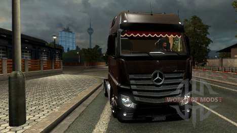 Mercedes Actros MPIV для Euro Truck Simulator 2
