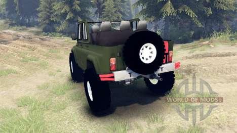 УАЗ-3159 трофи для Spin Tires