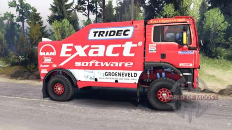 MAN TGA Dakar для Spin Tires