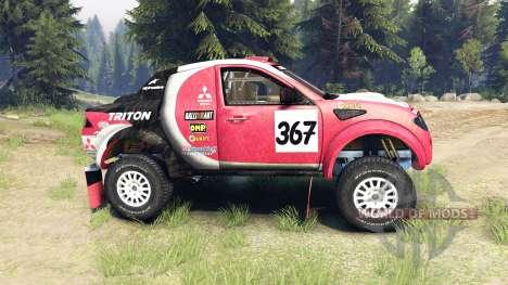Mitsubishi L200 Triton для Spin Tires