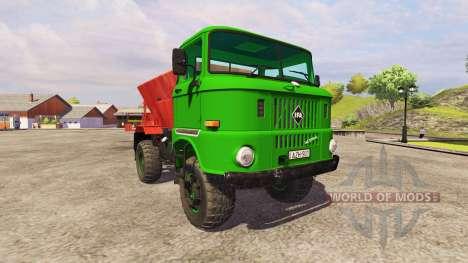 IFA W50L Tornado для Farming Simulator 2013