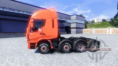 Iveco Stralis Hi-Way 8X4 для Euro Truck Simulator 2