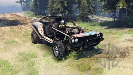 Dodge HL2 rusty для Spin Tires