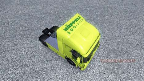 Скин Kappeli Logistik на тягач Iveco для Euro Truck Simulator 2