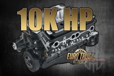 10K лошадиных сил для Euro Truck Simulator 2