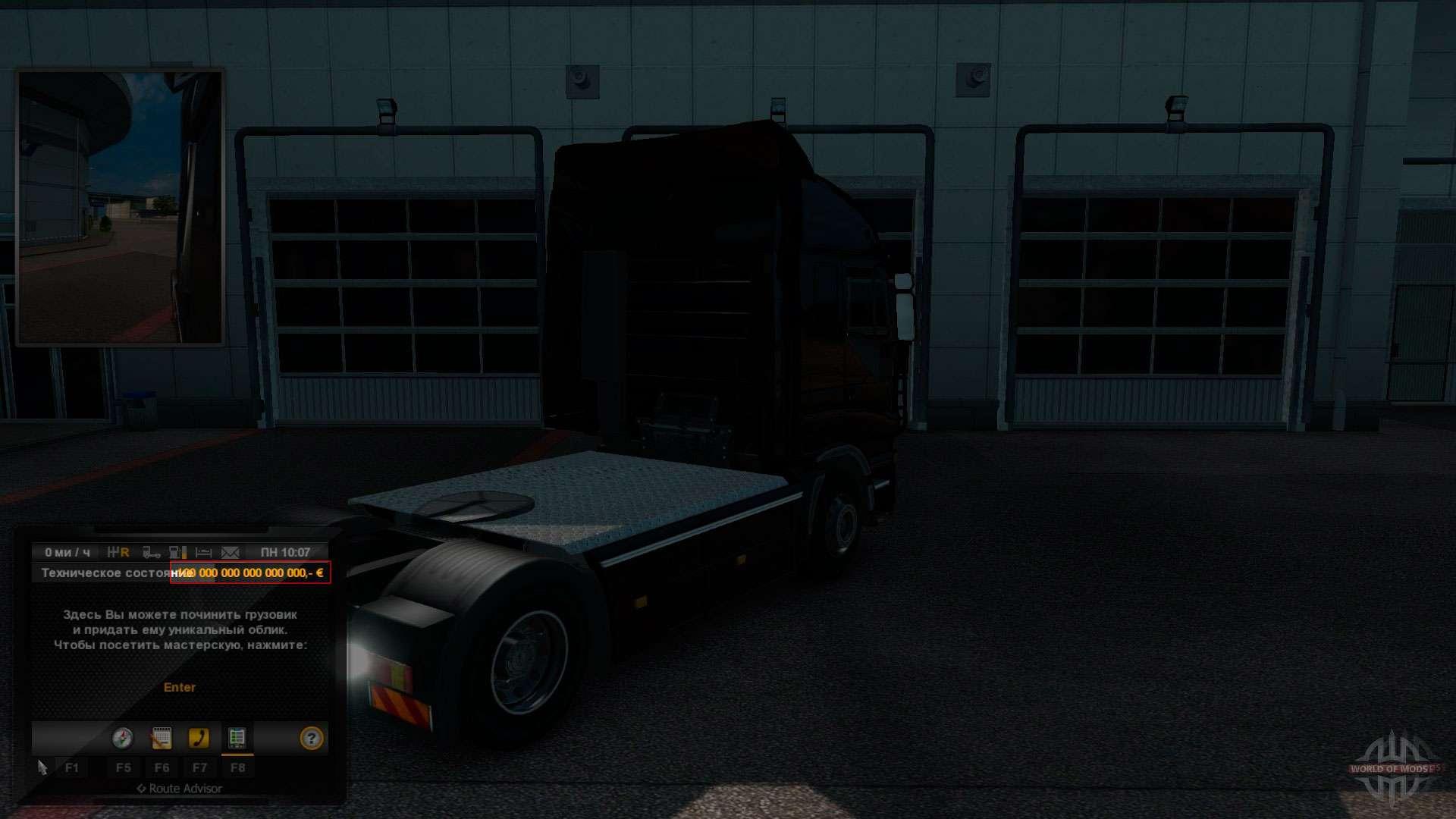 Мод Автостоп На Euro Truck Simulator 2