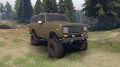 International Scout II 1977 drab green