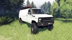 Ford E-350 Econoline 1990 v1.1 white