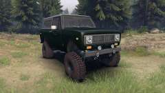 International Scout II 1977 dark green poly