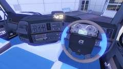 Новый интерьер у тягачей Volvo