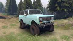 International Scout II 1977 glacier blue