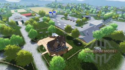 Friesenmap v2.0 для Farming Simulator 2013