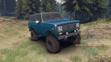 International Scout II 1977 bimini blue poly для Spin Tires