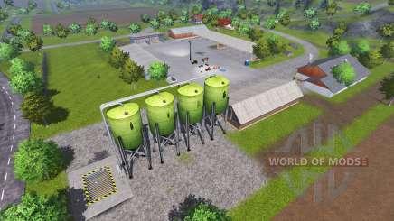 Mannys Map v2.0 для Farming Simulator 2013
