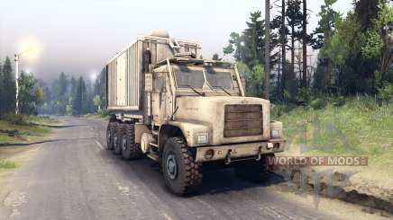 Oshkosh MTVR 8x8 PLS-LHS Final для Spin Tires