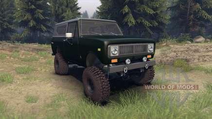International Scout II 1977 dark green poly для Spin Tires