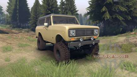 International Scout II 1977 elk для Spin Tires