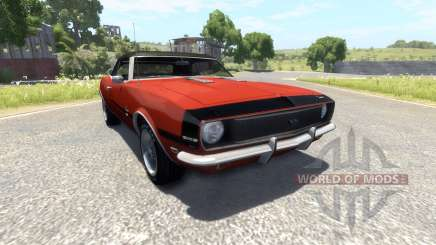 Chevrolet Camaro RS SS 396 1968 для BeamNG Drive