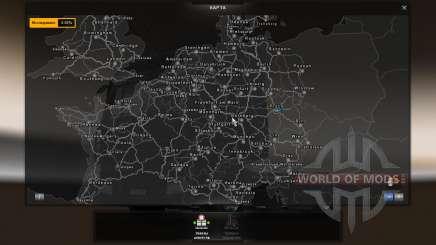 Скачать Карту Европы Для Euro Truck Simulator 2 - фото 4