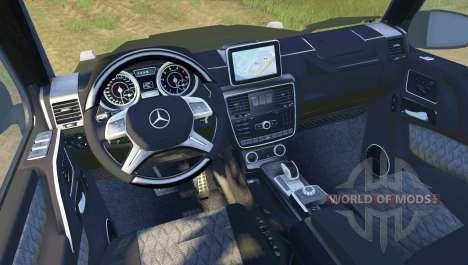 Mercedes-Benz G65 AMG для Spin Tires