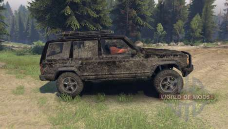 Jeep Cherokee для Spin Tires
