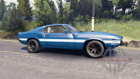 Ford Shelby GT500 для Spin Tires
