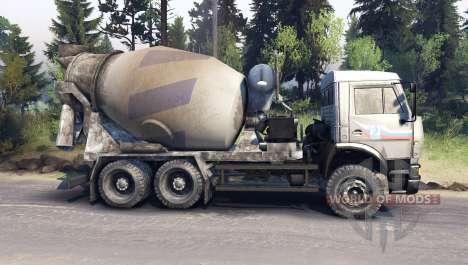 КамАЗ-6520 для Spin Tires