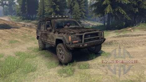 Jeep Cherokee для Spin Tires